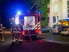 Felle woningbrand in Ermelo: appartementencomplex midden in de nacht ontruimd