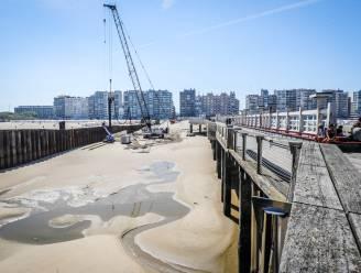 Maand lang 'geluidsarme' werken aan de Pier, tot opluchting van strandgangers én -uitbaters
