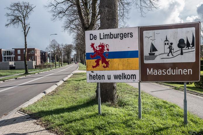 De Rijksweg bij Molenhoek