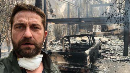 Gerard Butler zamelt geld in voor slachtoffers van bosbranden