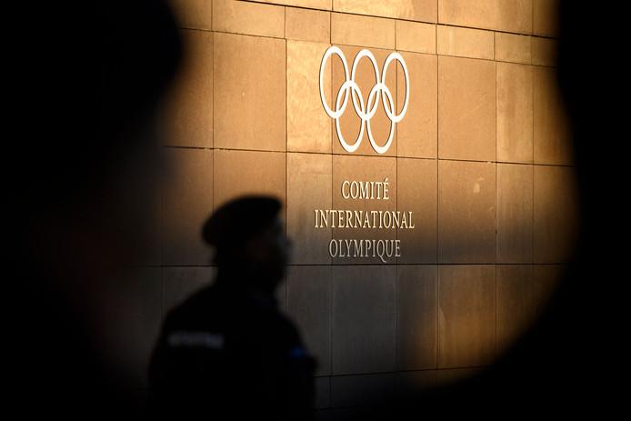 Het hoofdkantoor van het IOC in Lausanne.