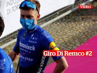 """Giro Di Remco #2. Hoogdag voor Evenepoel, die langverwachte rentree viert in korte openingstijdrit: """"We mogen Remco bij favorieten plaatsen"""""""