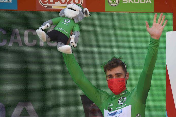 Troisième victoire d'étape pour Fabio Jakobsen sur la Vuelta 2021.