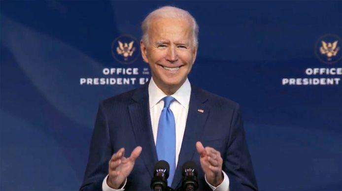 Biden legt op 20 januari de eed af.