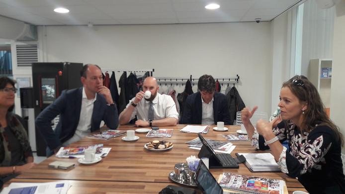 Burgemeester en wethouders van Breda presenteren de Voorjaarsnota 2019.