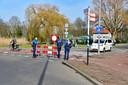 De wegen naar het Kralingse Bos zijn afgesloten.
