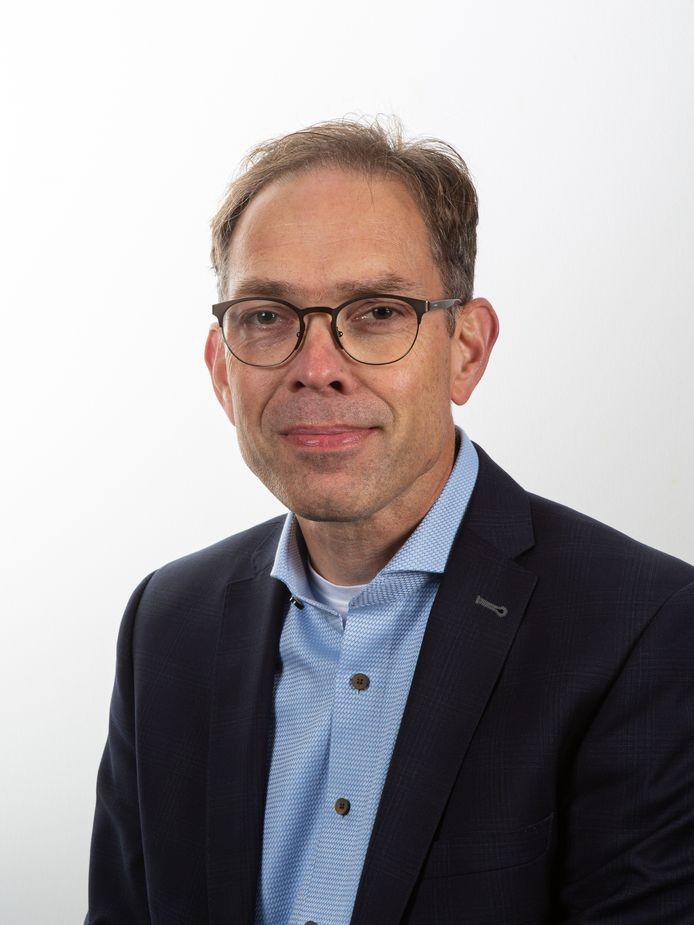 Wethouder Peter Hoek.