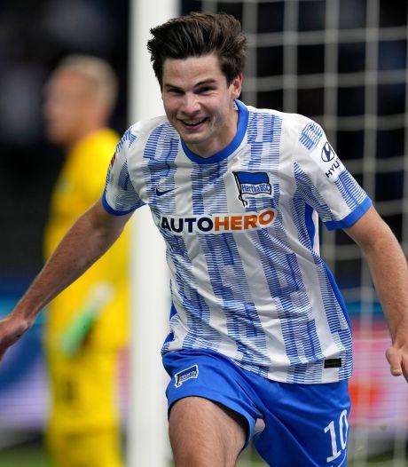 Jurgen Ekkelenkamp beleeft onvergetelijk debuut bij Hertha BSC: 'Was een emotioneel moment'