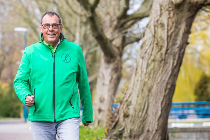Don Braad van Wandelgroep Sportief Zoetermeer.