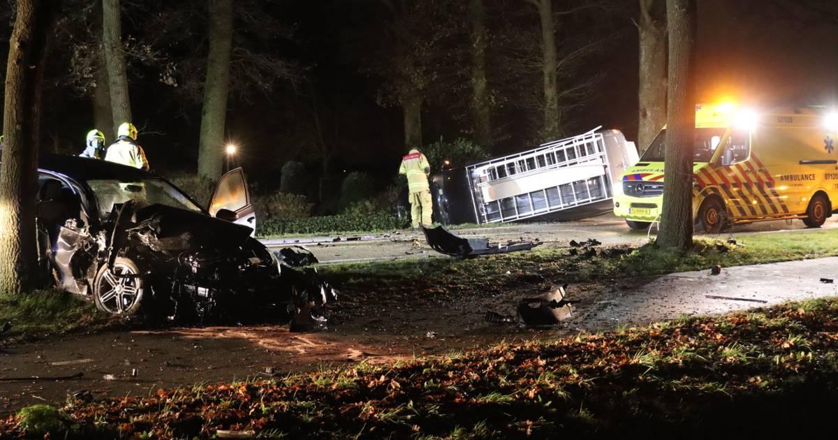 Gewonde bij ernstig ongeluk in Lunteren.
