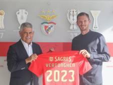 """Jan Vertonghen présenté à Benfica: """"Je suis venu ici pour gagner des trophées"""""""
