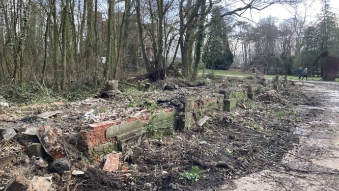 """Oude pergola in Verloren Bos afgebroken: """"Bovenbouw wordt houten constructie"""""""