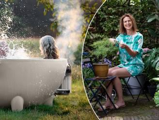 Van een basic hottub tot een op maat gemaakte saunabarrel: onze tuinexperte toont hoe je een wellness creëert in je tuin voor elk budget