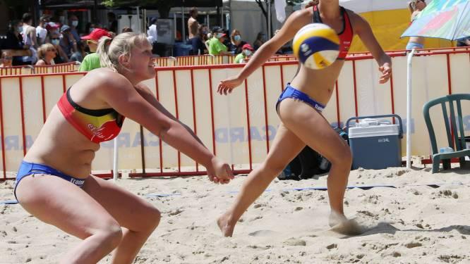 """Bente Daniëls en Lana Mees: """"De voorlopige stand in het beachvolleybal geeft een vertekend beeld"""""""