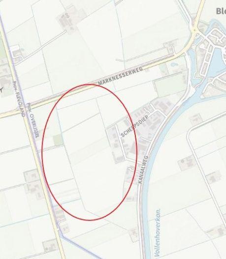 Italiaans energiebedrijf en lokale coöperatie willen zonnepark aanleggen bij Blokzijl, tegen de grens met de Noordoostpolder