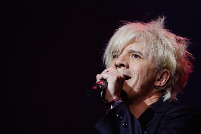 Indochine-frontman Nicola Sirkis.