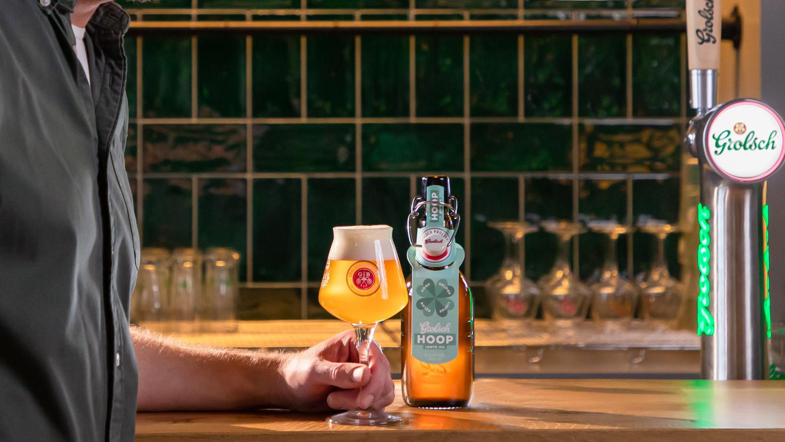 De lente IPA Hoop van Grolsch krijgt een vervolg: een biertje met een beperkte oplage in samenwerking met brouwerij Hoop.