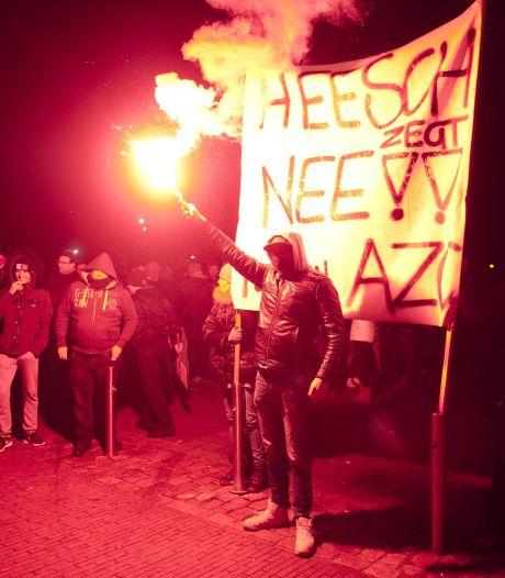 Burgemeester noemt protest Heesch 'weerzinwekkend'