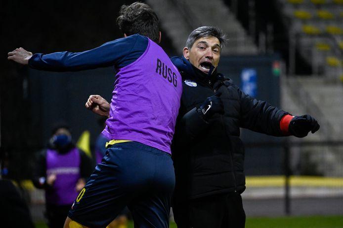 Felice Mazzu weet dat de titel Union niet meer kan ontsnappen na de derde goal van Undav.