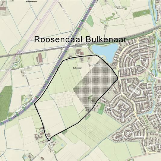 De locatie Bulkenaar omvat 42 hectare.