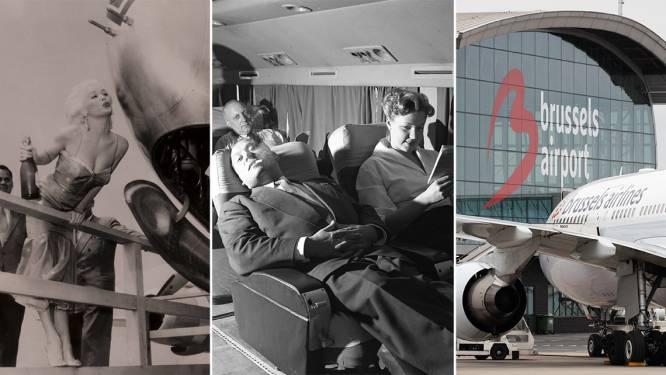 Luchtbruggen, veel naamswijzigingen en niet de eerste ontslagronde: de bewogen geschiedenis van onze luchtvaartmaatschappij