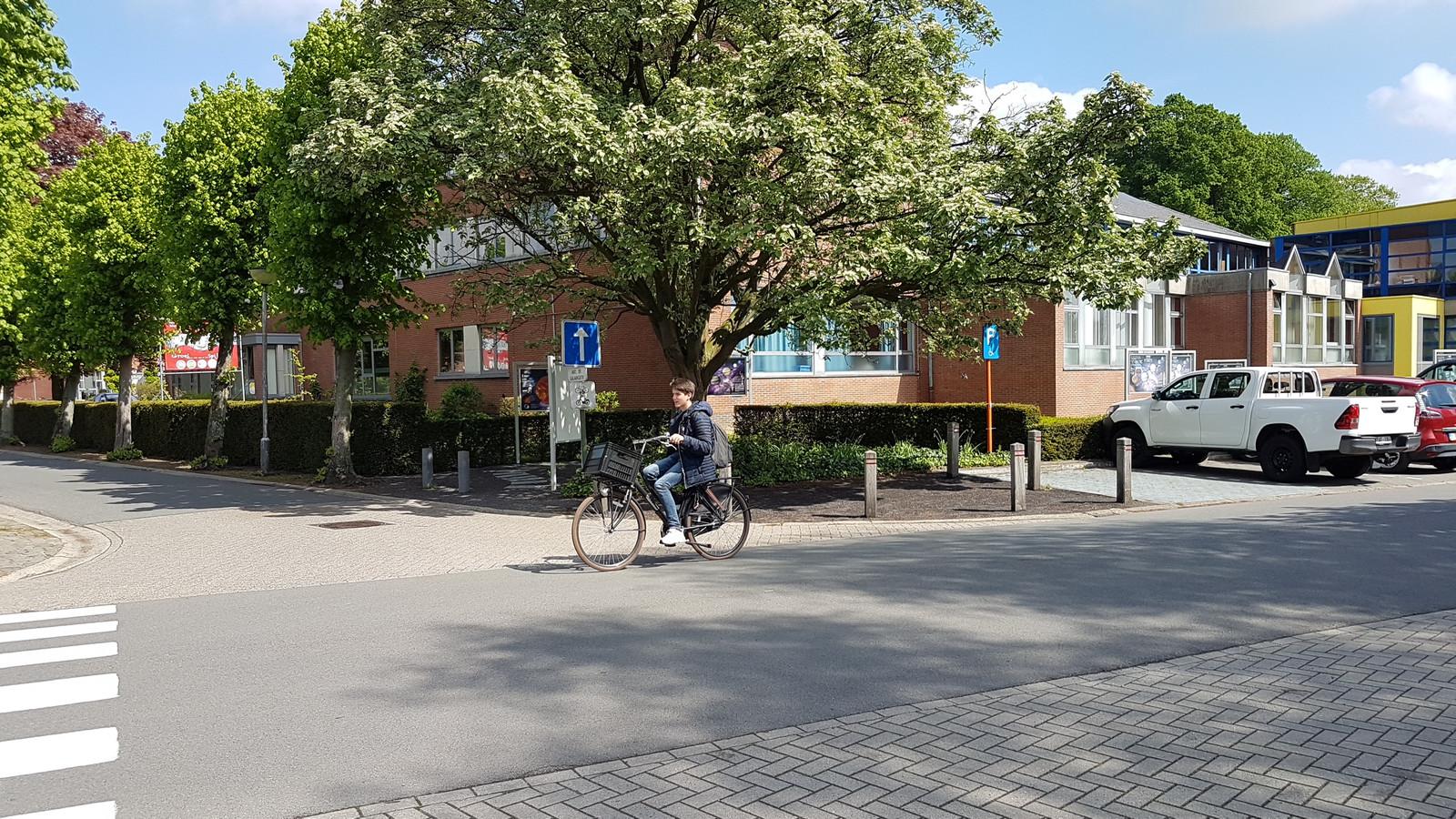 De schoolomgeving ondergaat vanaf 6 mei serieuze wijzigingen.