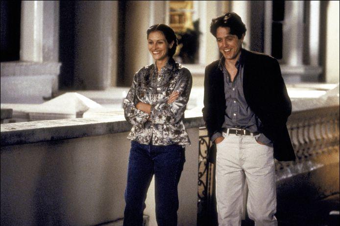 Julia Roberts et Hugh Grant dans une scène du film