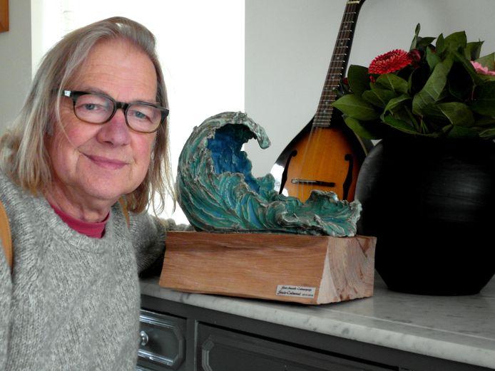 Jan Segers kreeg de Cultuurprijs van Sint-Amands.