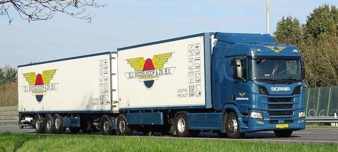Een vrachtwagen. Foto ter illustratie.
