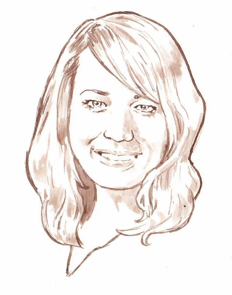 Justitieverslaggever Elsbeth Stoker Beeld Aloys Oosterwijk