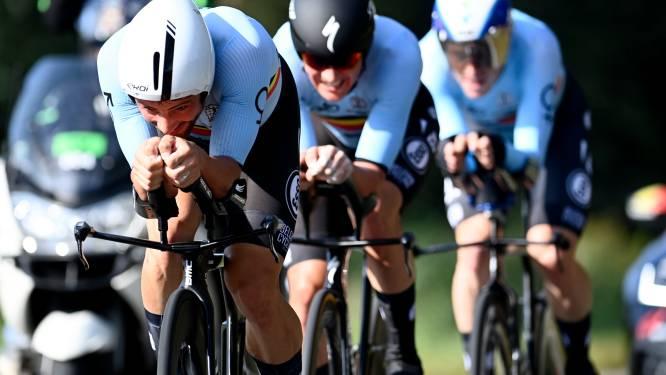 België eindigt als zevende in Mixed Team Relay,  afscheidnemende Tony Martin pakt met Duitsland goud
