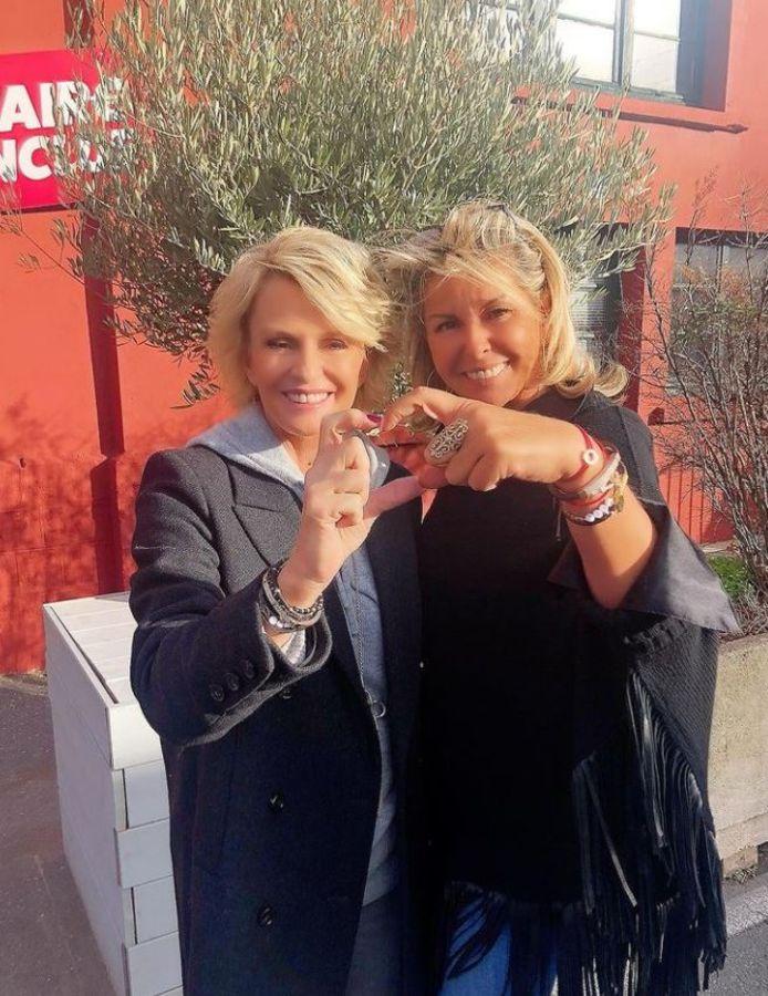 Sophie Davant et Caroline Margeridon