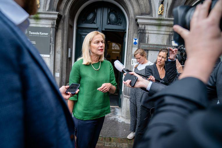 Sigrid Kaag (D66) zegt dat ze er 'altijd al spijt van heeft gehad' dat ze toestemming had gegeven voor de documentaire.  Beeld ANP