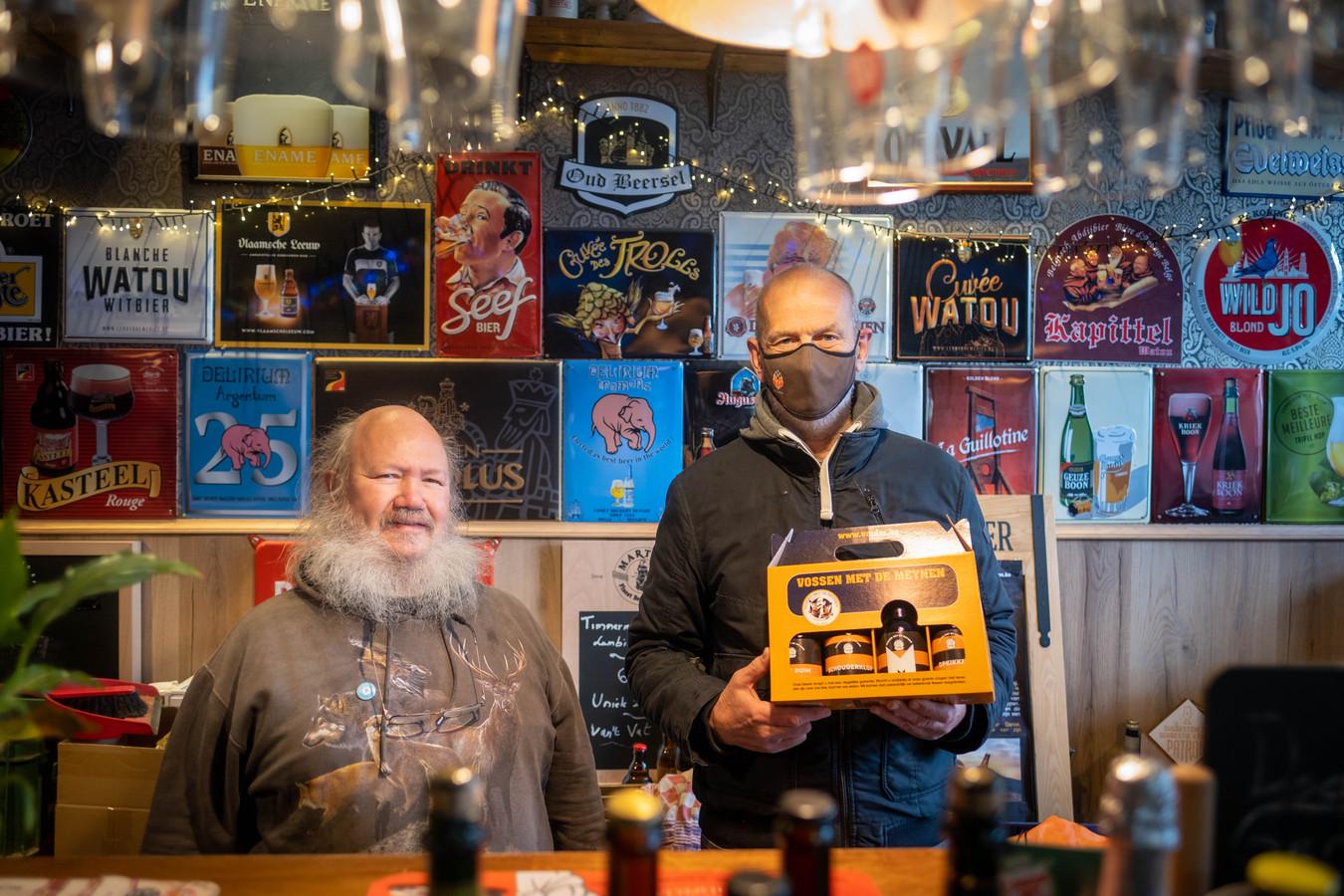Gerard Walschaerts van Den Stillen Genieter en Jef Meynen van BrewingFox