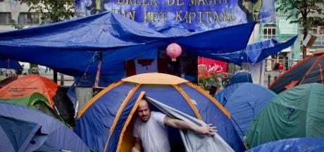 Occupy Amsterdam wil kamp verkleinen