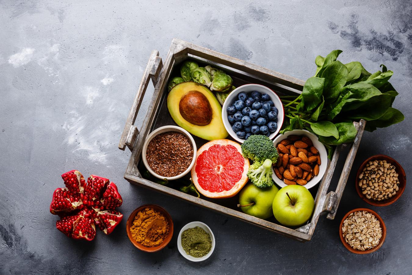 Groenten en fruit en vooral: variëren